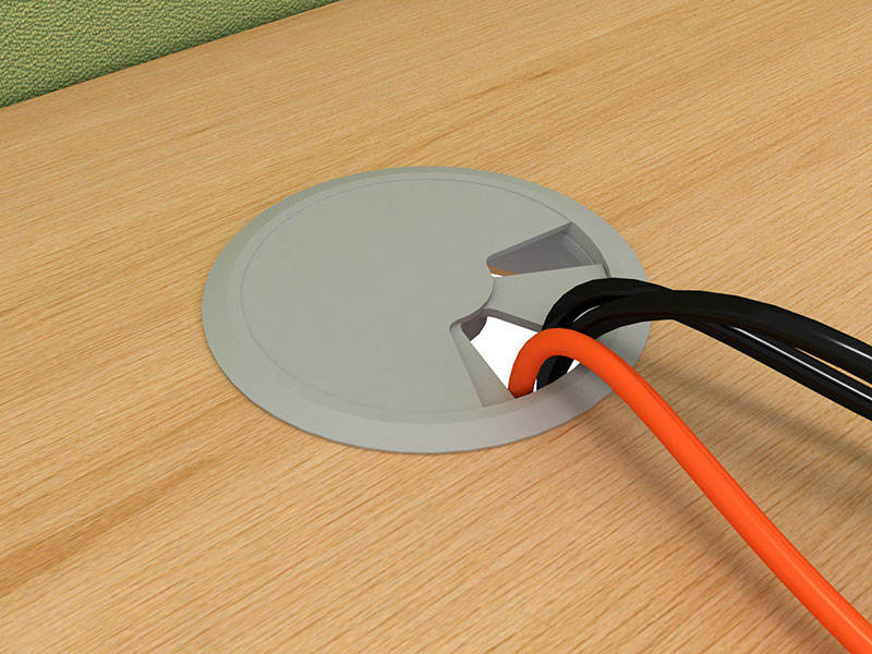 Kabelová průchodka včetně vyvrtání otvoru a instalace