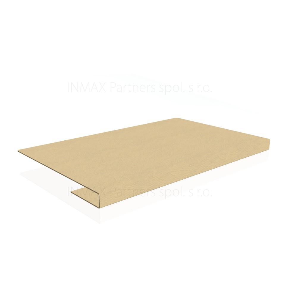 EKP Exner Expo - kožená podložka na stůl pro tl. desky 38 mm
