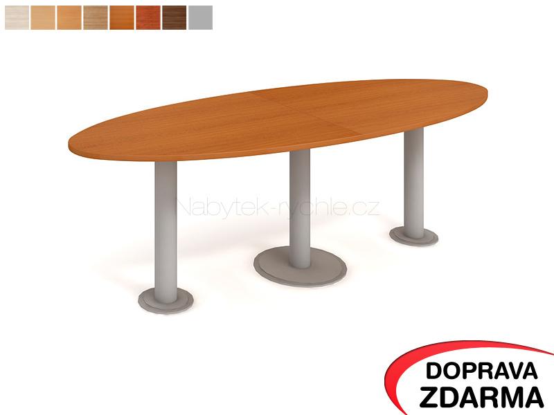 JS 2400 C Hobis - Jednací stůl elipsa 240 x 90