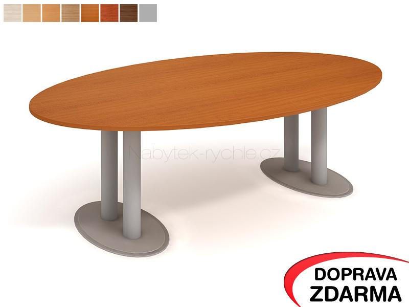 JS 2600 C Hobis - Jednací stůl elipsa 260 x 130