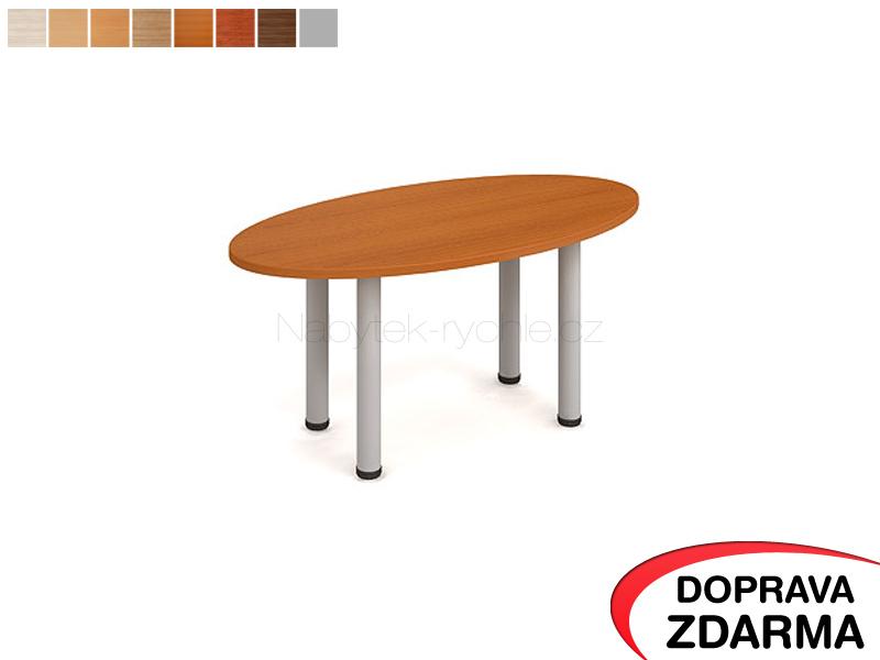 KS 1200 R Hobis - Konferenční stůl elipsa 120 x 60