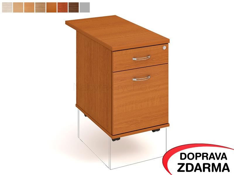 K 22 ZSC 80 Hobis - Kontejner na kolečkách 2 zásuvky hl. 80 cm