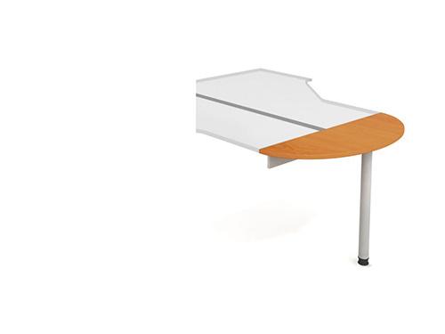 Přídavná deska s nohou Hobis ERG 120 - 120 x 40 - H