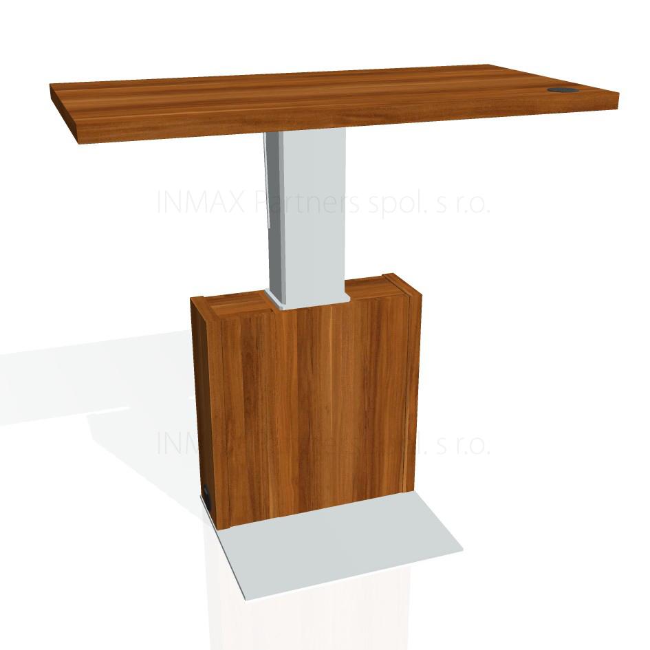 EE-2 Exner Expo - stůl stavitelný elektrifikovaný