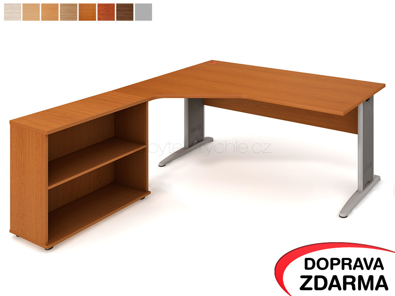 CEV 1800 H P Hobis Cross - Stůl se skříňkou