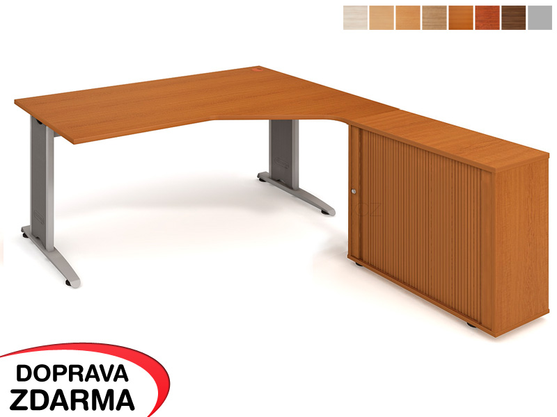 FEV 1800 HR L Hobis Flex - Stůl se skříňkou