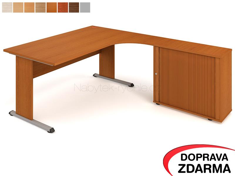PE 1800 HR L Hobis Proxy - Stůl se skříňkou