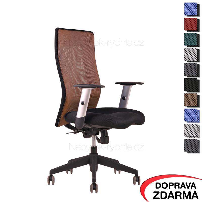 Židle Calypso Grand Hnědá