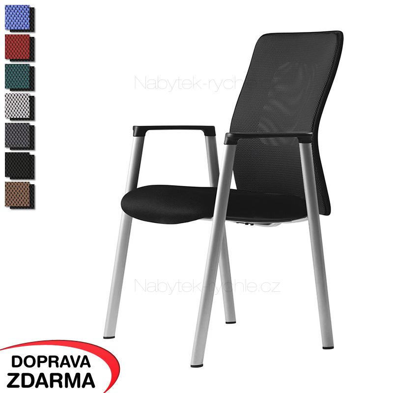 Židle pro návštěvy Calypso Meeting černá
