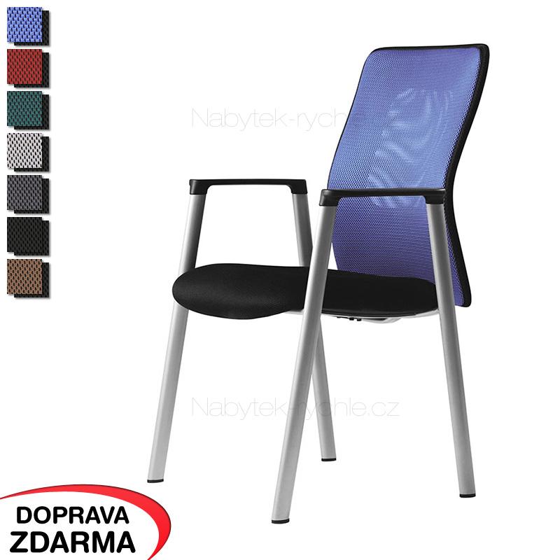 Konferenční židle Calypso Meeting modrá