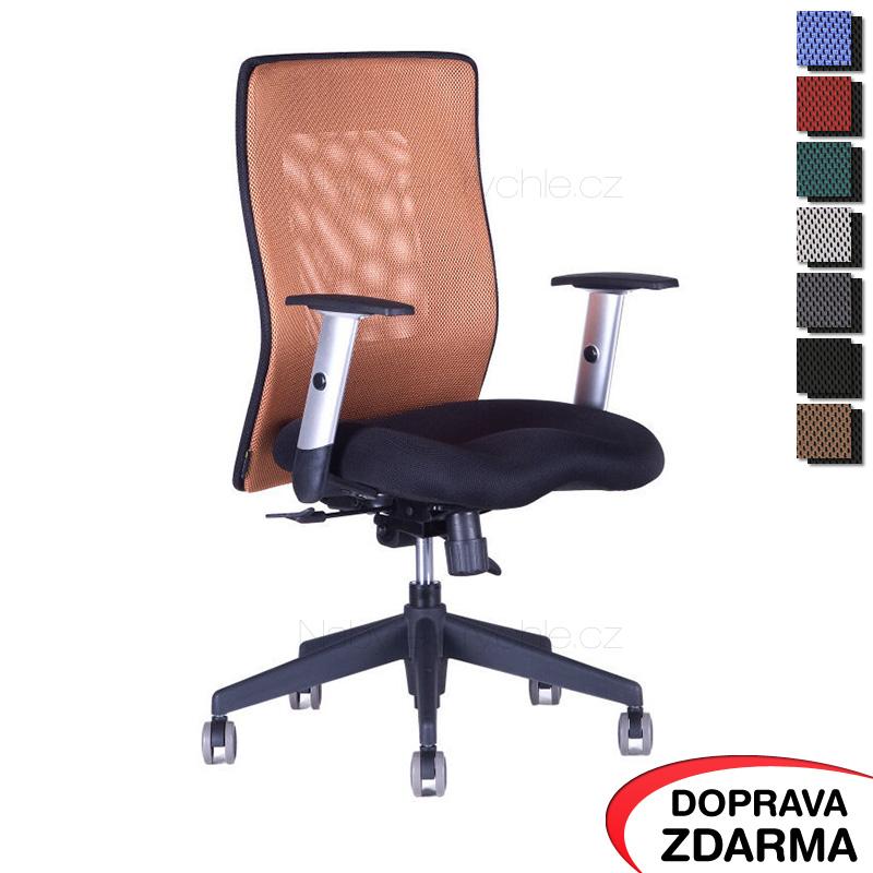 Židle Calypso XL BP Hnědá