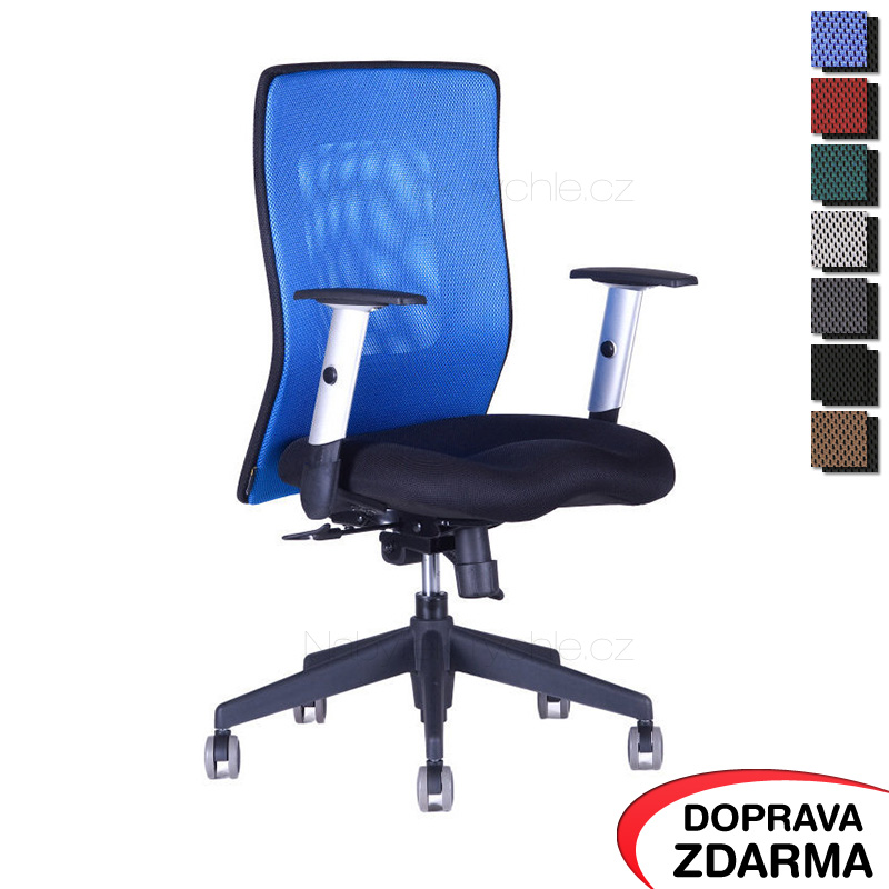 Židle Calypso XL BP Modrá