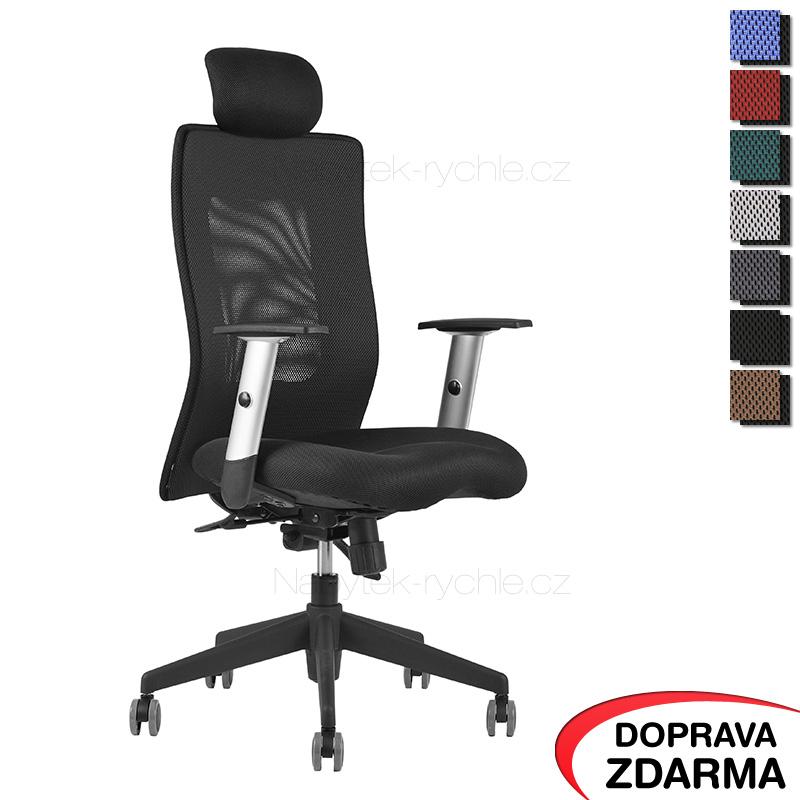 Židle Calypso XL SP4 Černá - Podhlavník pevný