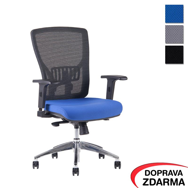 Židle Halia Mesh Chrom Modrá