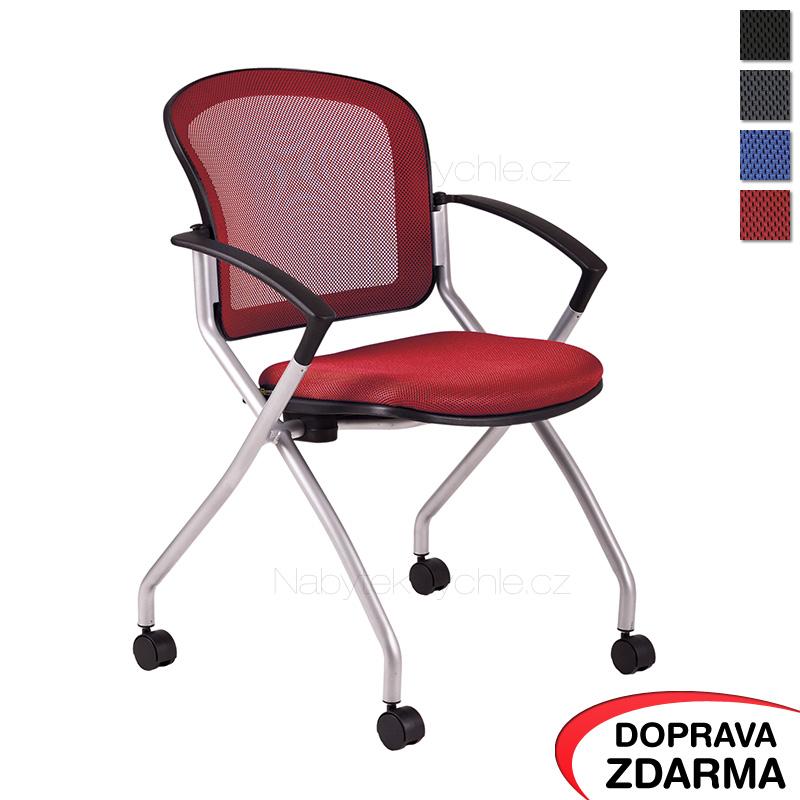Židle Metis červená