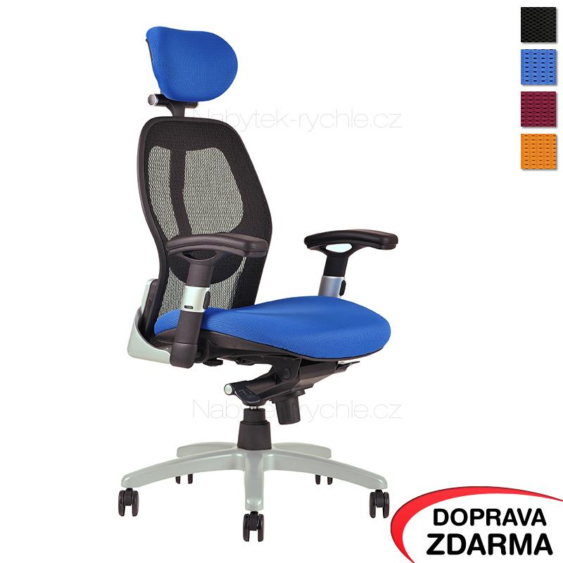 Židle Saturn Modrá
