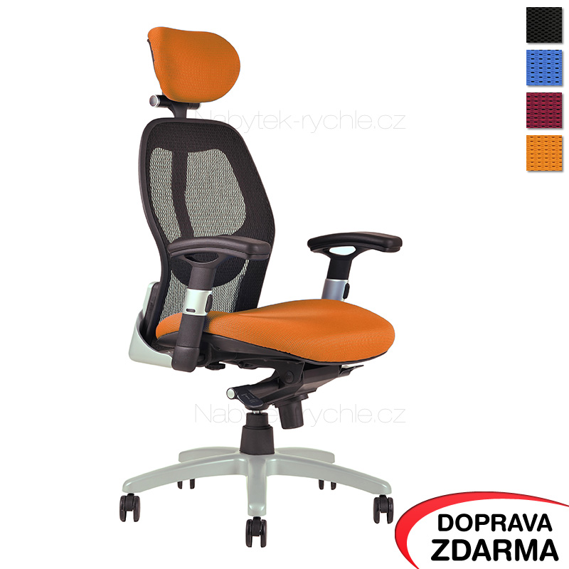 Židle Saturn Oranžová