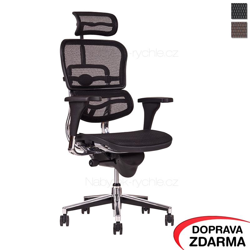 Kancelářská židle Sirius černá