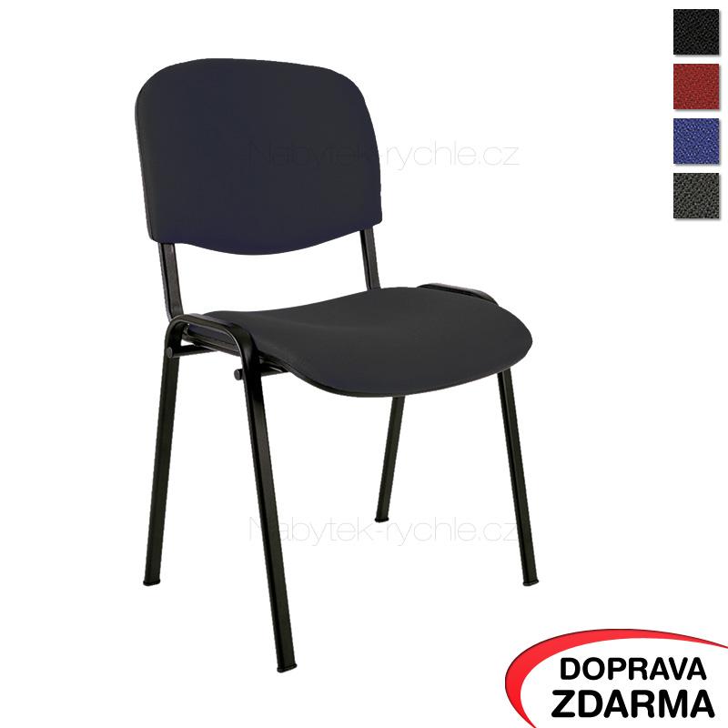 Jednací židle Taurus černá