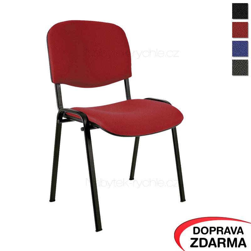 Jednací židle Taurus červená