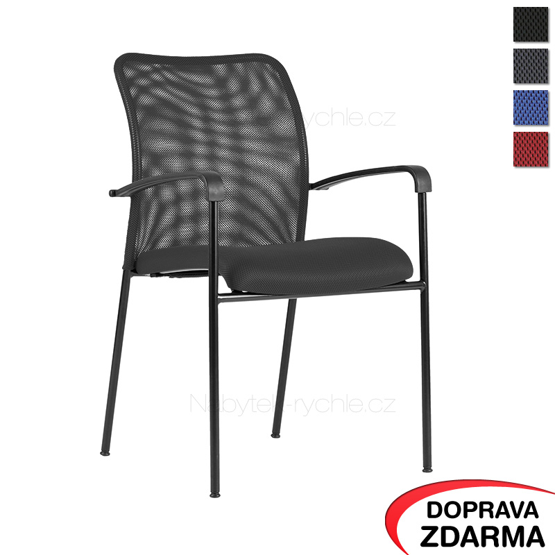 Židle Triton Black šedá