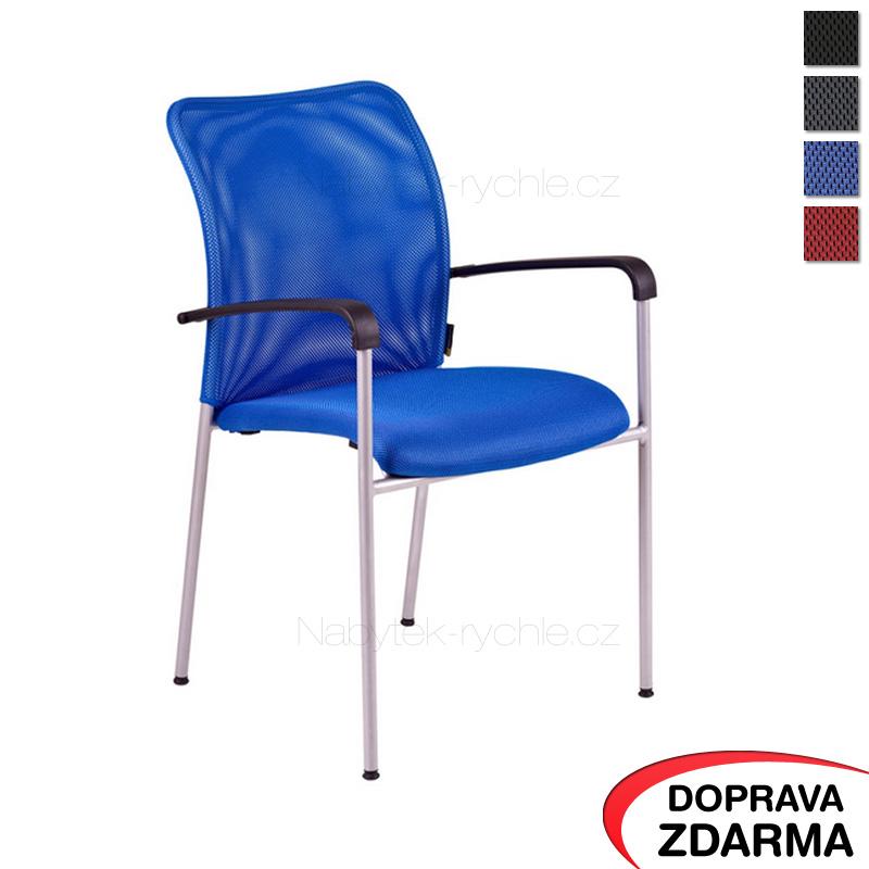 Konferenční židle Triton Gray modrá